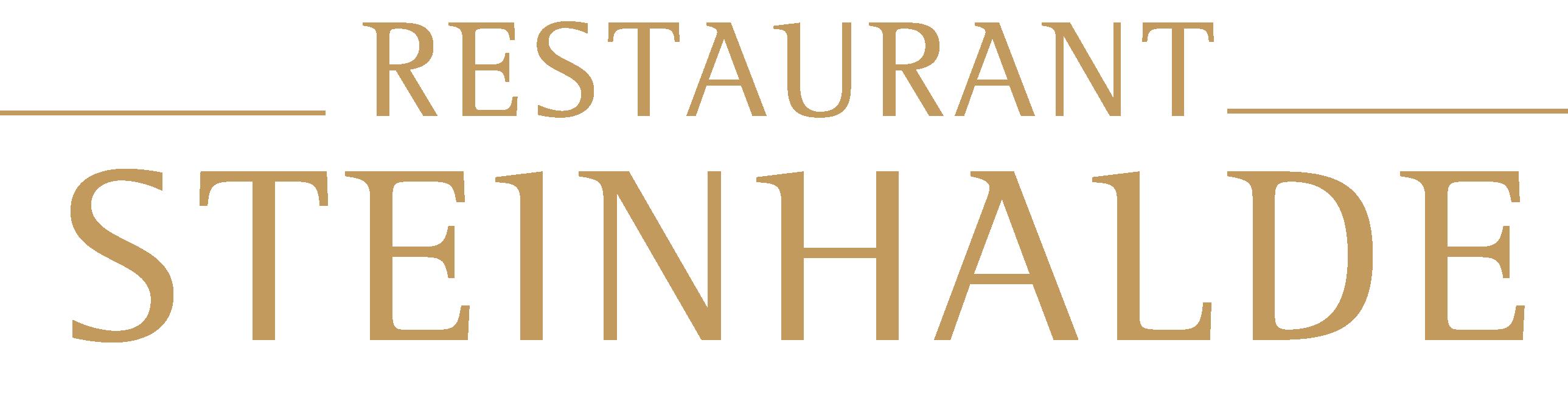 Logo Restaurant Steinhalde